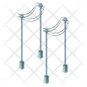 Electricity Cables Tower Icon