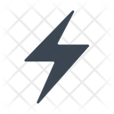 Charge Flash Lightning Icon