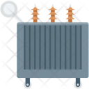 Electricity Transformer Power Icon