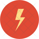 Electricity Thunder Bolt Icon