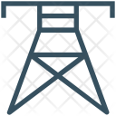 Electricity Tower Wire Icon