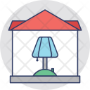 Electricity Lamp Table Icon