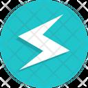 Electricity Thunder Flash Icon
