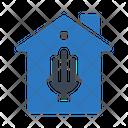 Energysaver House Home Icon