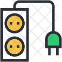 Electricity Extension Cable Icon