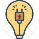 Electricity Electric Danger Icon