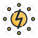 Electricity Power Electric Icon