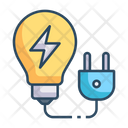 Electricity Power Energy Icon