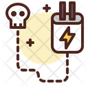Electricity Power Danger Danger Power Icon