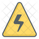 Electricity Electric Power Coution Icon