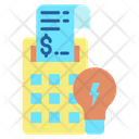 Electricity Bill Payment Icon