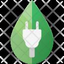 Electricity Concept Plug Icon