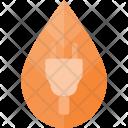 Electricity Plug Concept Icon