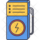 Electricity filling station Icon