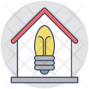 Electricity Home Icon