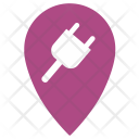 Electricity Point Icon