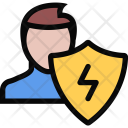 Electricity Protection Plumber Icon