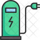 Electric Car Vehicle Icon