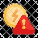 Alert Energy Electricity Icon