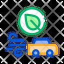 Electro Car Speed Icon