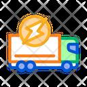 Electro Truck Icon