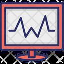 Electrocardiogram Heartbeat Heartbeat Screen Icon