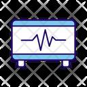 Electrocardiogram Cardiogram Ecg Icon
