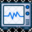 Medical Healthy Electrocardiogram Icon