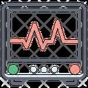 Cardiogram Heart Care Heart Health Icon
