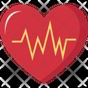 Electrocardiogram Heart Medical Icon