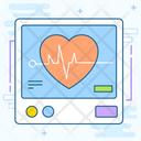 Cardiogram Electrocardiogram Ecg Monitor Icon