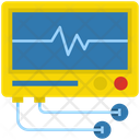 Electrocardiogram Ecg Cardiogram Icon