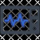 Cardiogram Electrocardiogram Ecg Icon