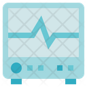 Biology Electrocardiogram Ecg Monitor Icon