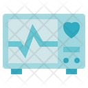 Blood Donation Medical Electrocardiogram Icon