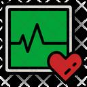 Electrocardiogram Ekg Cardiogram Icon