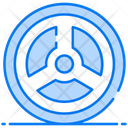 Electromagnetic Magnet Physics Icon