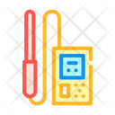 Electromagnetic Field Detector Icon