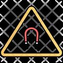 Danger Electromagnetic Field Hazardous Icon