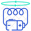 Electromagnetic Field Icon