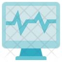 Physiotherapy Electromyography Monitor Icon