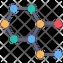 Cell Bond Electron Icon