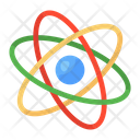 Quantum Physics Science Symbol Atom Icon