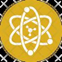 Electron Atom Molecule Icon