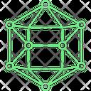 Electron Atom Microbiology Icon