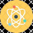 Electron Atom Science Icon