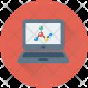 Electron Atom Laptop Icon