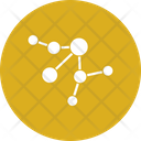 Electron Connection Atom Chemistry Icon