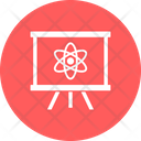 Electron On Board Science Education Science Learning Icon