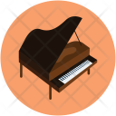 Electronic Piano Musical Icon